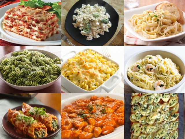 20 kinds of pasta with recipe crazy masala food 20 kinds of pasta with recipe forumfinder Choice Image