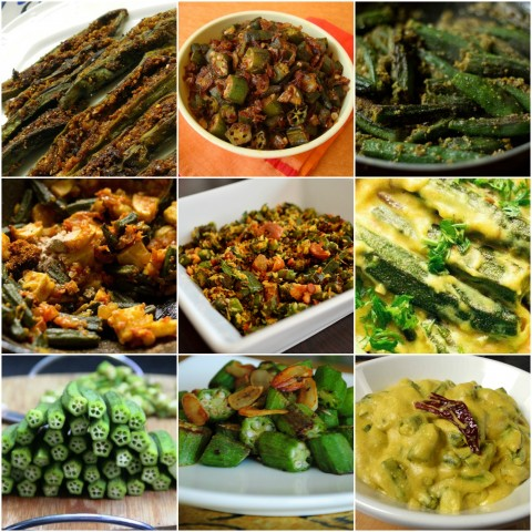 Top 20 Okra dishes of India