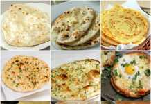 Top 20 types of naan to have with gravy