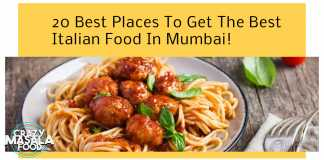 20 Best Places To Get The Best Italian Food In Mumbai