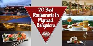 20 Best Restaurants In Mgroad, Bangalore