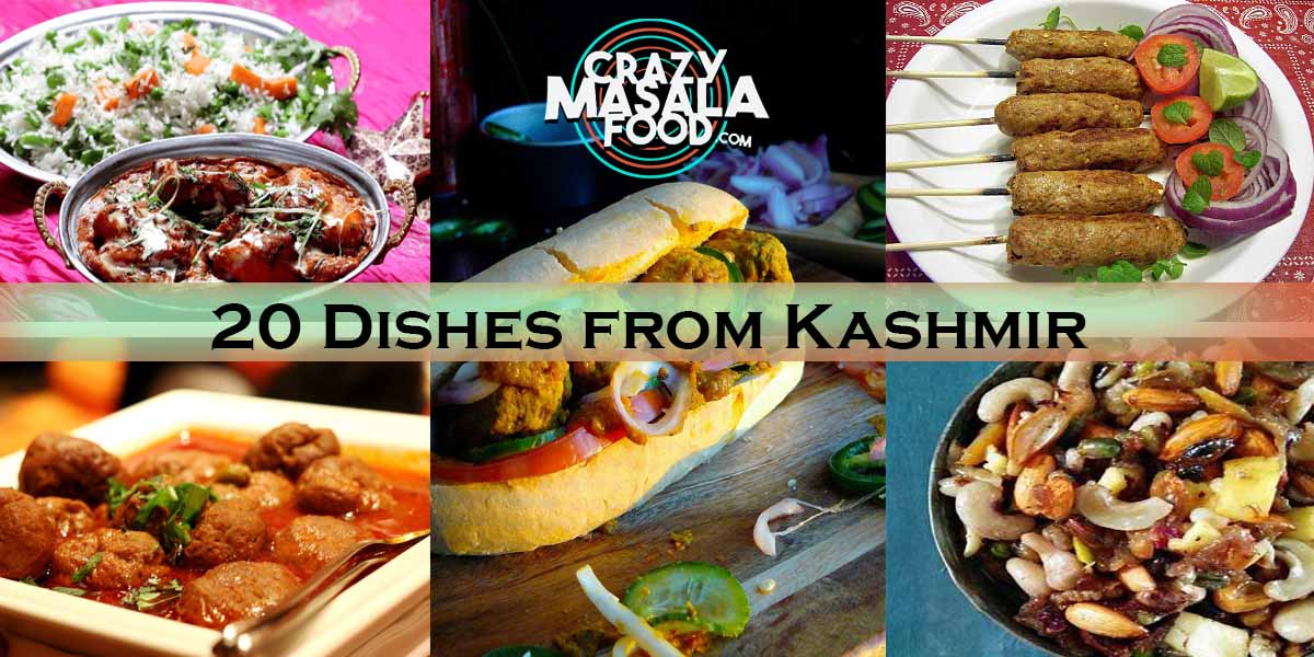 20 Dishes from Kashmir