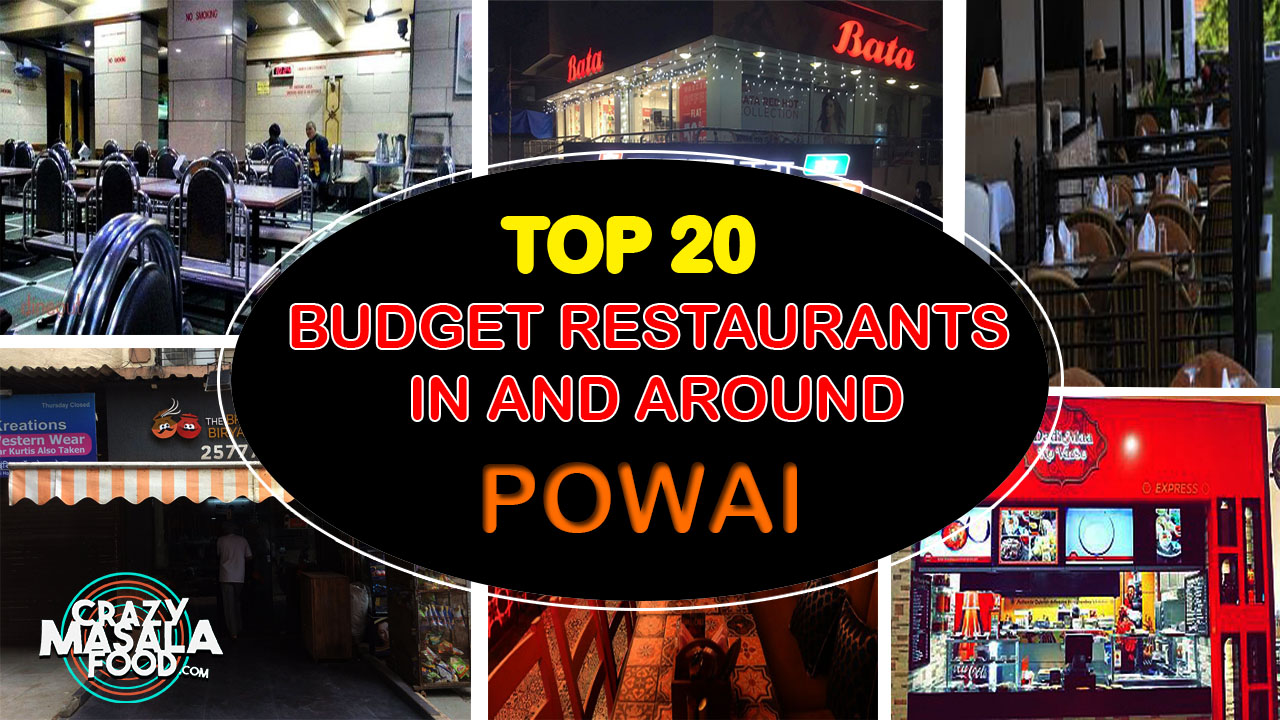 20 places in and around powai