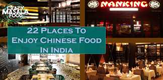 22 Places To Enjoy Chinese Food In India