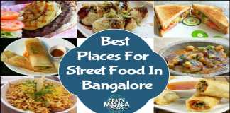 Best Places For Street Food In Bangalore
