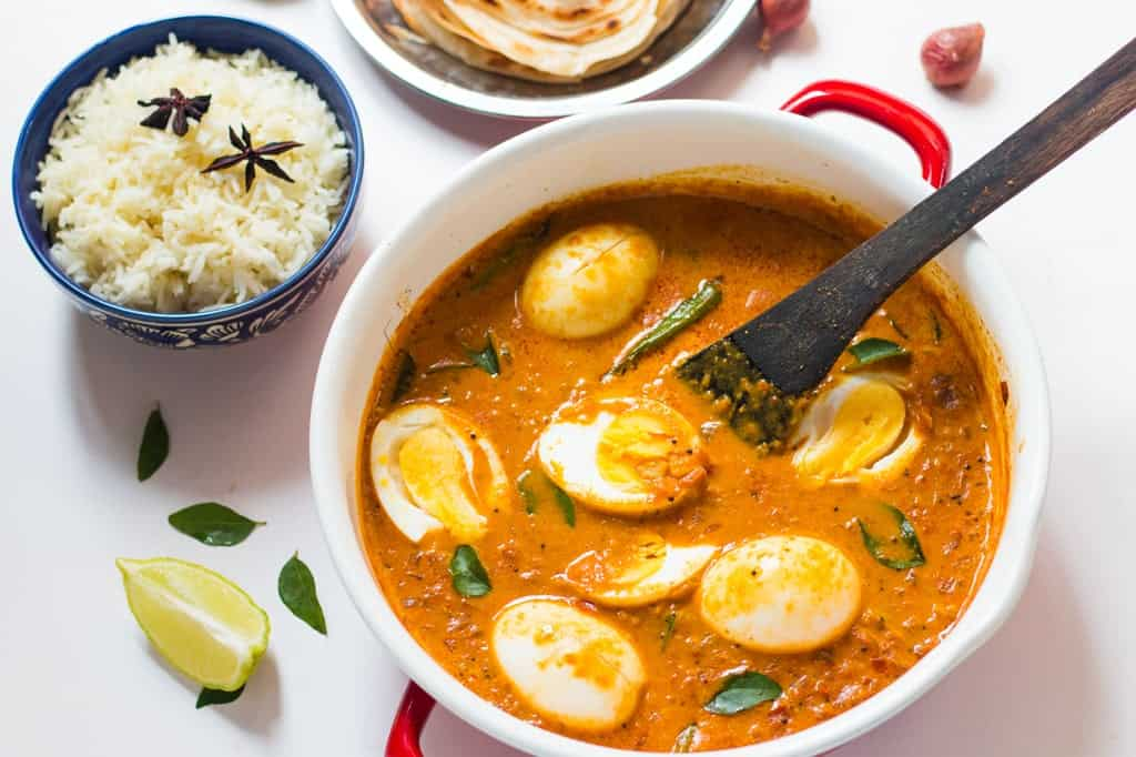 Curry With Eggs