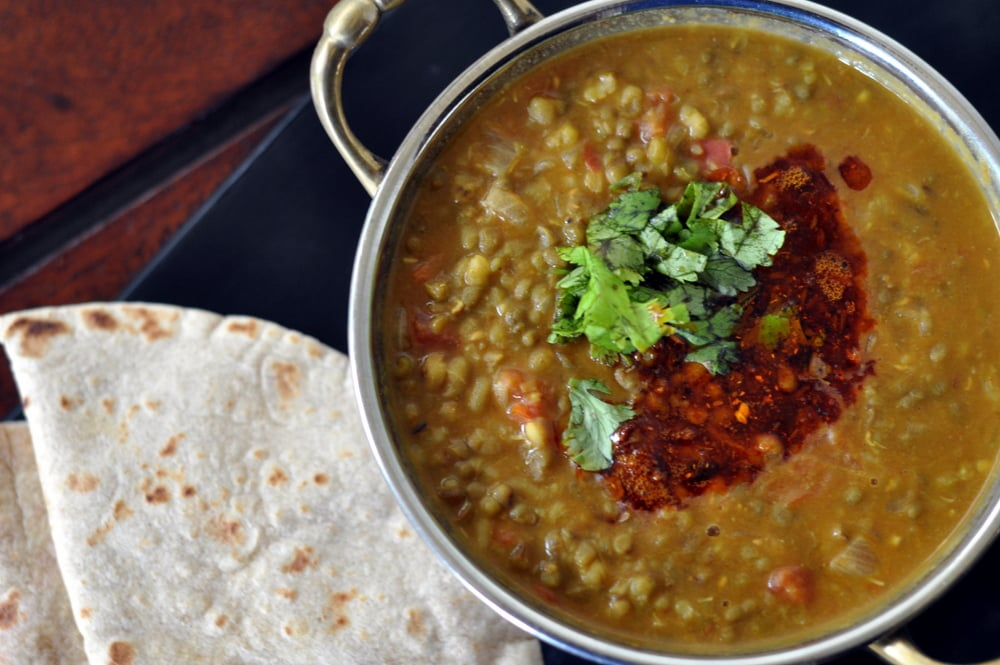Green Moong Dal Curry