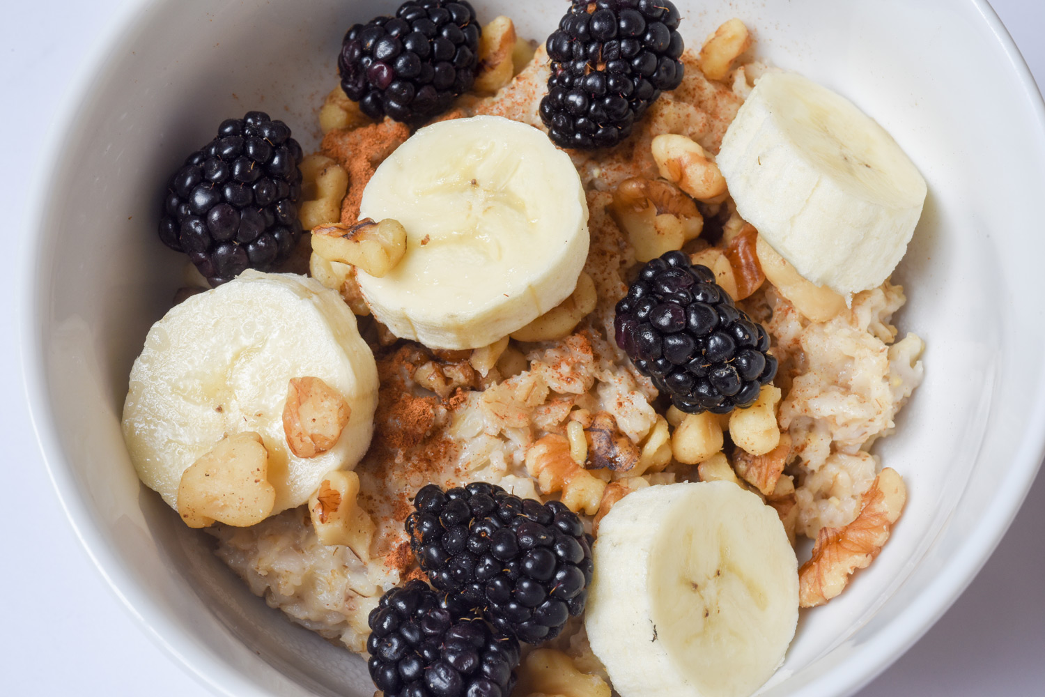 Oatmeal (nuts, fruits and seeds)
