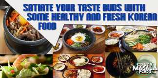 Satiate Your Taste Buds With Some Healthy And Fresh Korean Food
