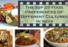 The Top 25 Food Preferences Of Different Cultures In India