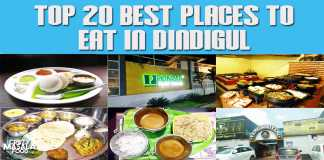 Top 20 Best Places To Eat In Dindigul