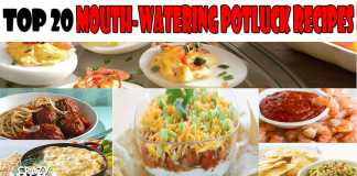 Top 20 Mouth-Watering Potluck Recipes Ranked In Order Of Popularity