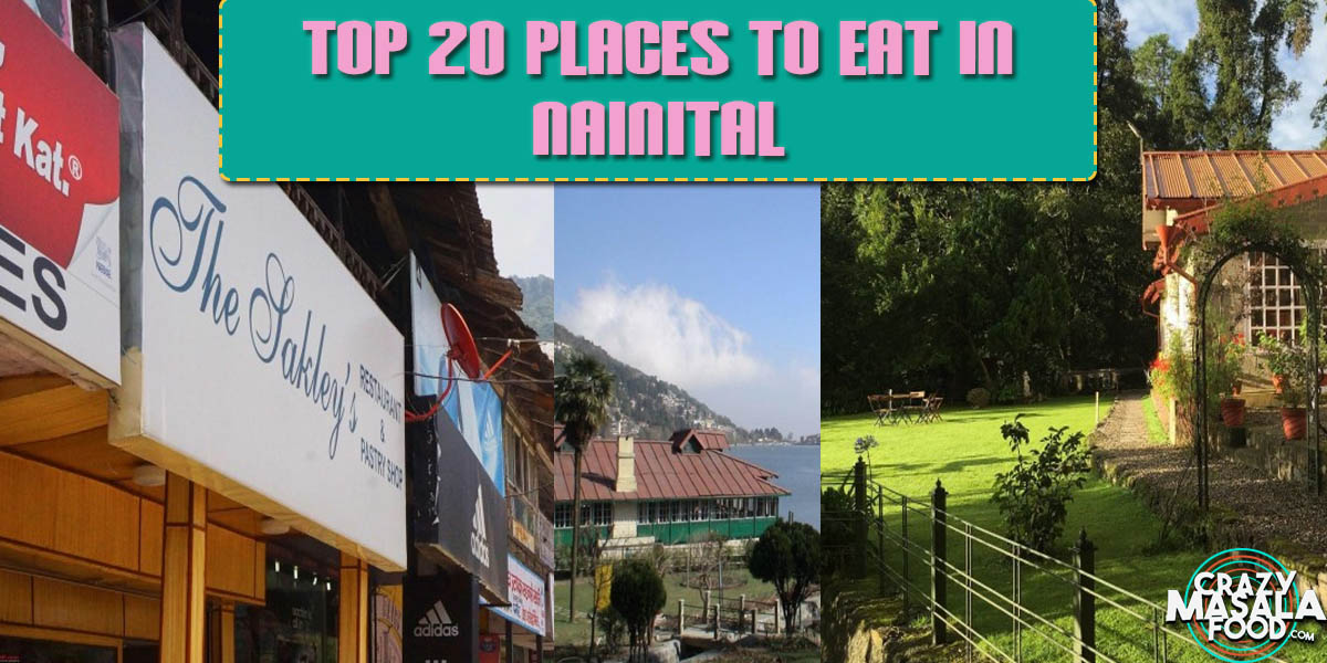 Top 20 Places to Eat In Nainital