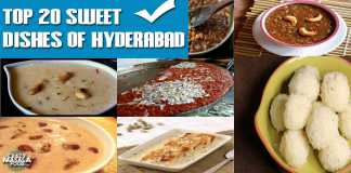 Top 20 Sweet Dishes Of Hyderabad