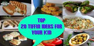 Top 20 Tiffin Ideas for Your Kid