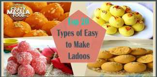 Top 20 Types of Easy to Make Ladoos