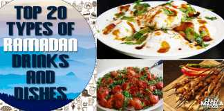 Top 20 Types of Ramadan Drinks and Dishes