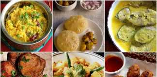 Top 20 must-have dishes in Durga Puja.