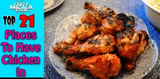 Top 21 Places To Have Chicken In Delhi