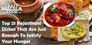 Top 21 Rajasthani Dishes That Are Just Enough To Satisfy Your Hunger