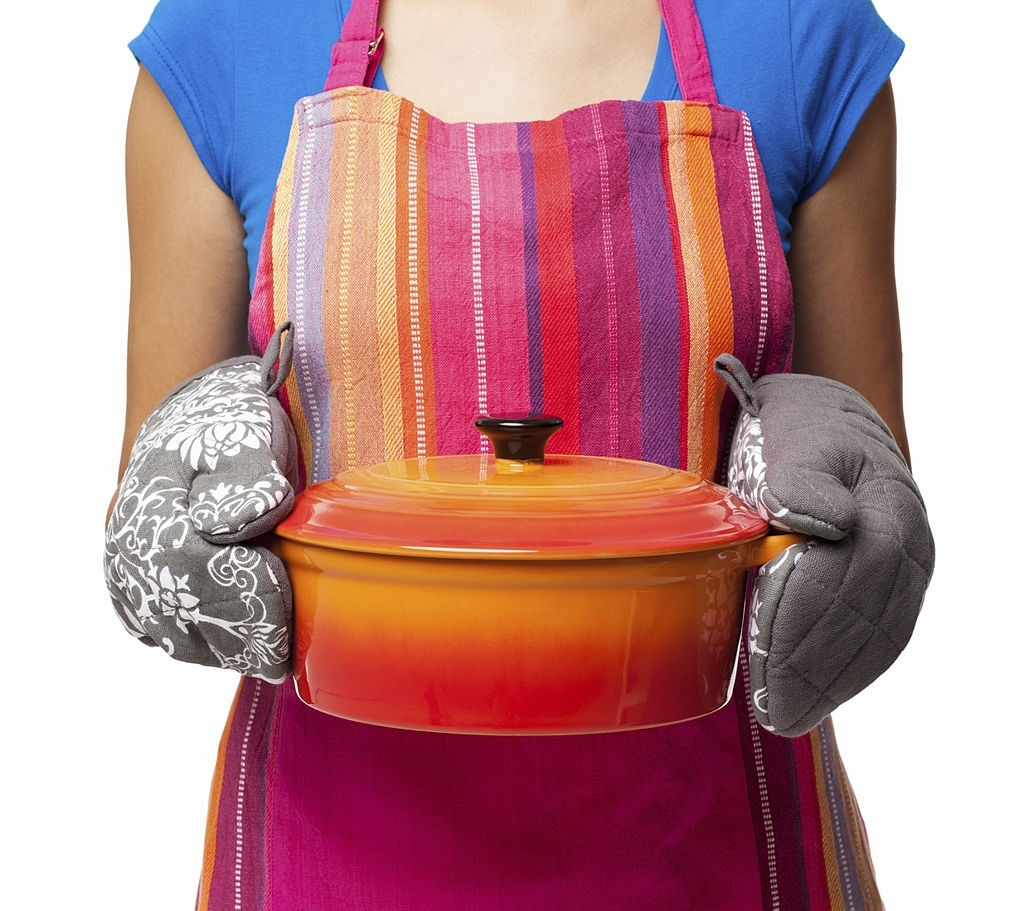 Oven Gloves and Apron