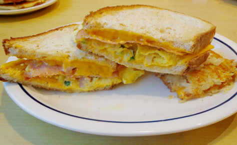 cheese-bread-omelette