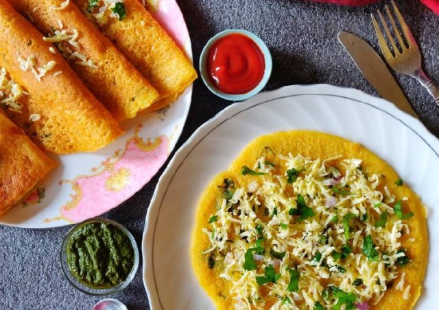 dal-cheela-with-stuffed-vegetables
