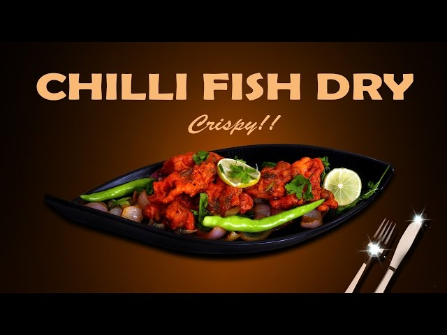 How To Make Chilli Fish Dry – One Minute Video